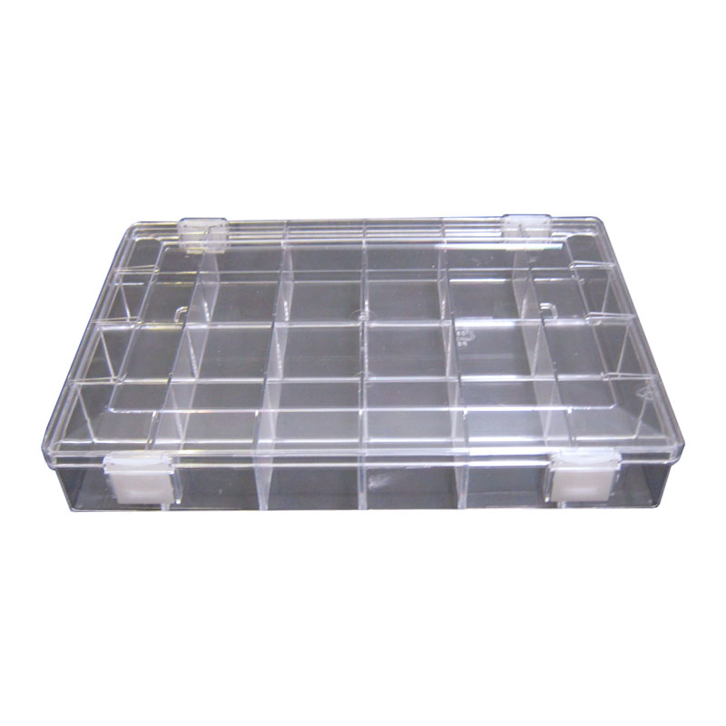 Box with 24 compartments stackable bo te compartiment e 24 empilable - Boite a compartiment ...