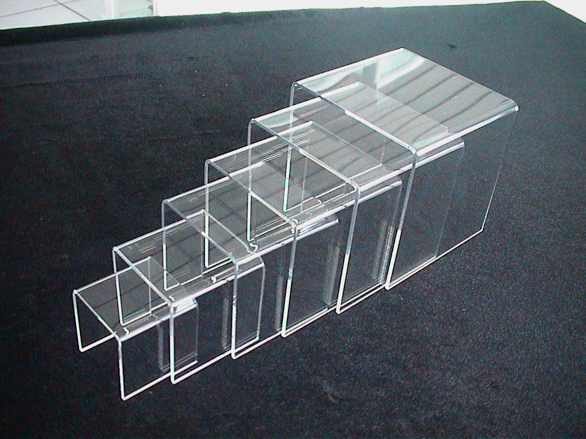 deko br cken set aus acrylglas 6stk set. Black Bedroom Furniture Sets. Home Design Ideas