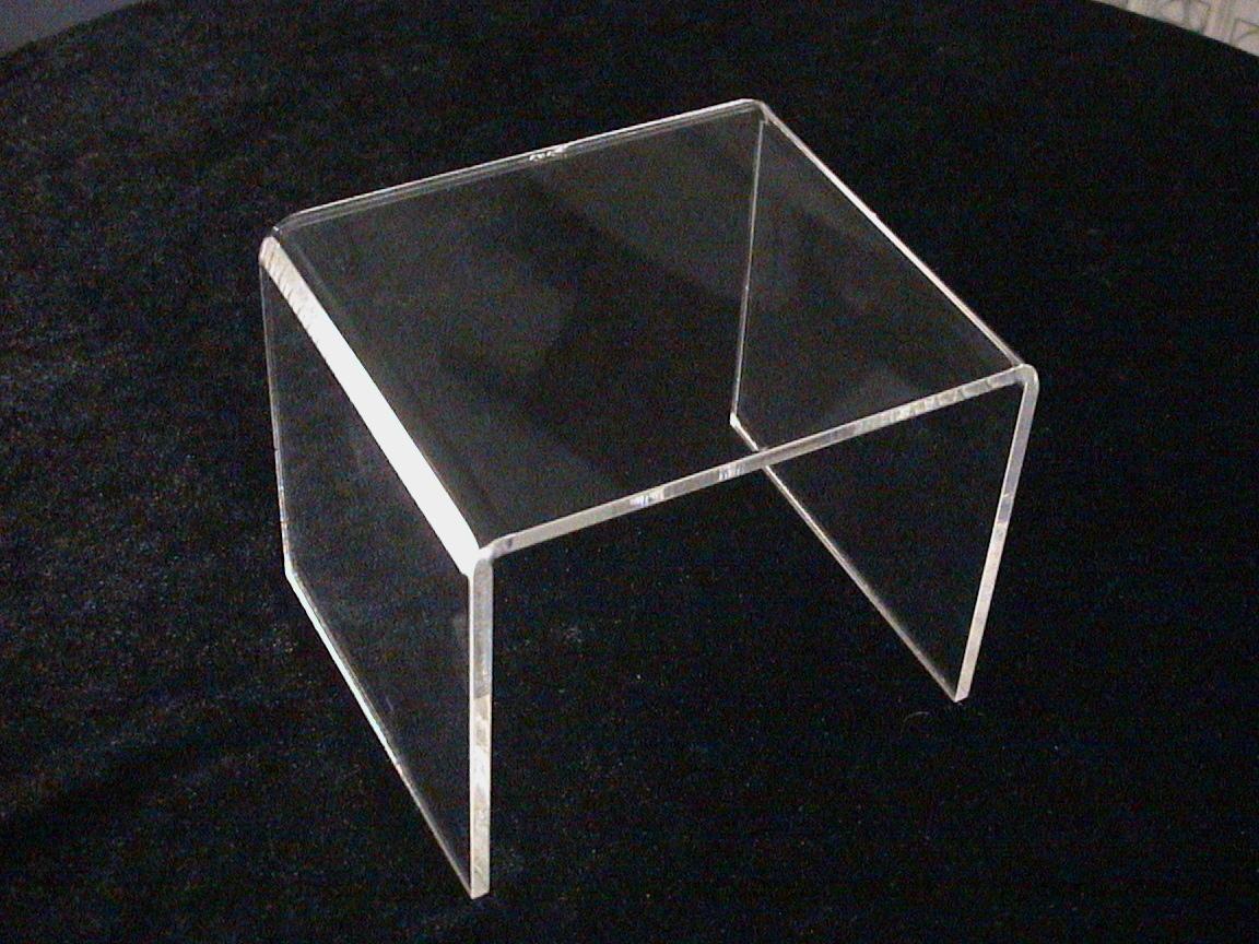 deko br cke aus acrylglas 120x100x100mm. Black Bedroom Furniture Sets. Home Design Ideas