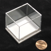box 40x35x33mm white bottom