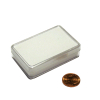 jewellery box white support / boîte avec support blanc 53x34x12mm