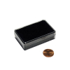 jewellery box black support / boîte avec support noir 53x34x12mm