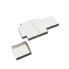 paper boxes / cartonnage blanc 93x85x30mm