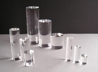 Round Acrylic Display Columns