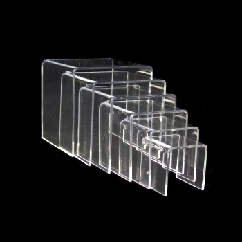Deco Bridge Set of acrylic glass (6 size), Déco pont set de verre acrylique (6 tailles)