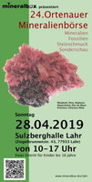mineral show in Lahr Germany 2019